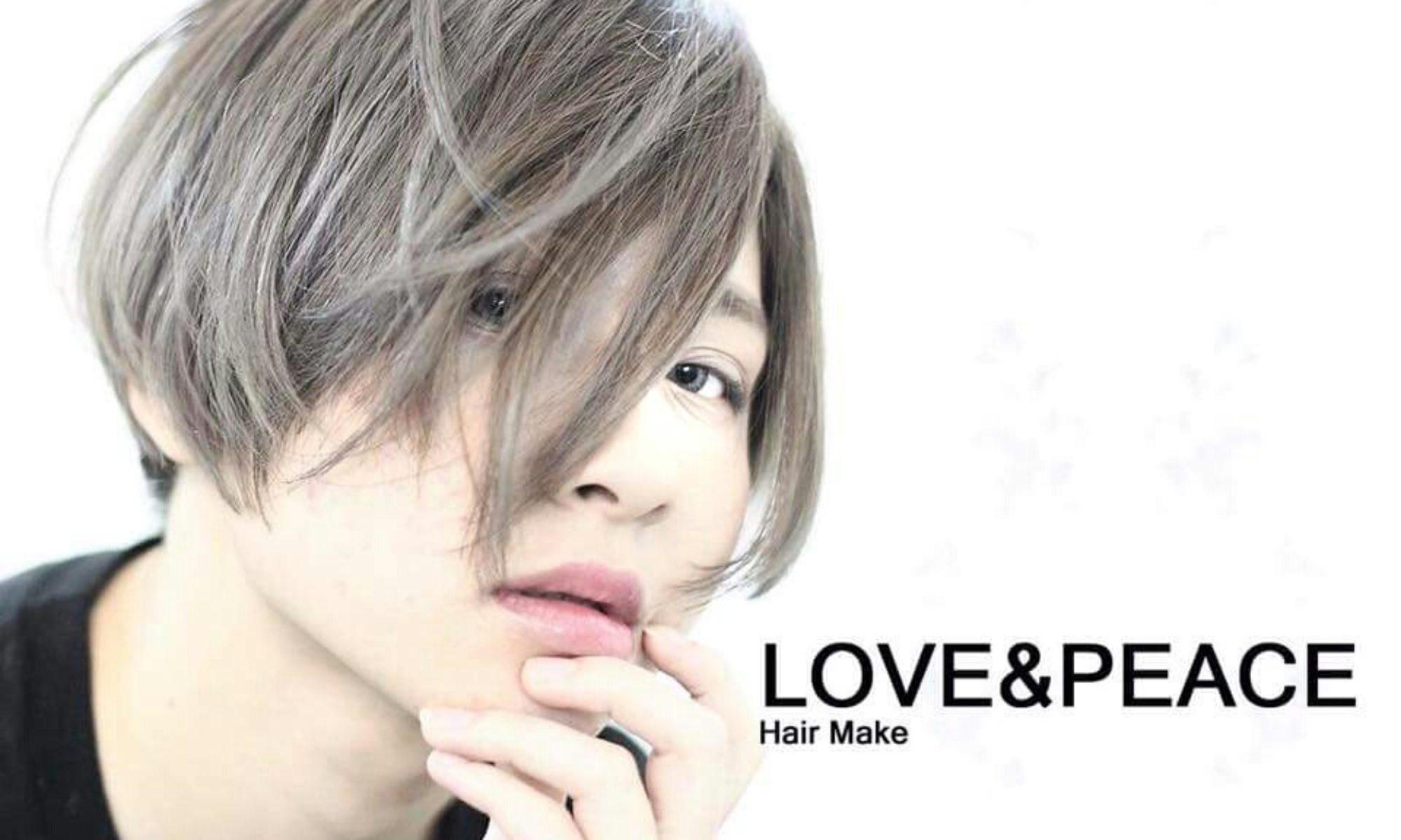 LOVE&PEACE高知市上町の美容室