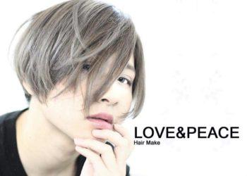 LOVE&PEACE高知市上町の美容室 ヘアサロン